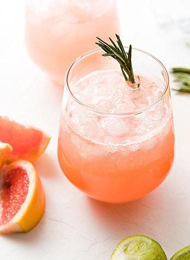 Non-Alcoholic Paloma - Best Mocktails Recipes - Mixed Drink Recipes