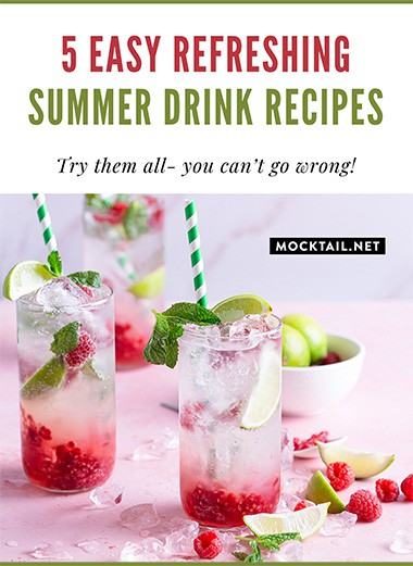 5 Easy Refreshing Summer Drink Recipes
