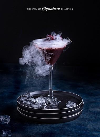 Signature Collection «Black Mocktail» Recipe