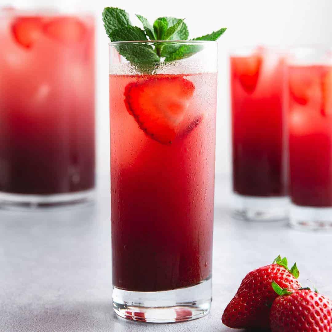 Cool Strawberry Acai Mint Refresher Recipe