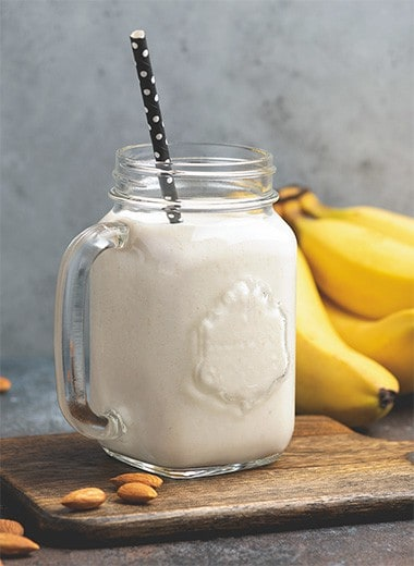 Banana Almond Milk Recipe