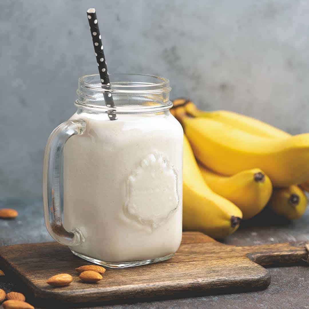 Banana Almond Milk