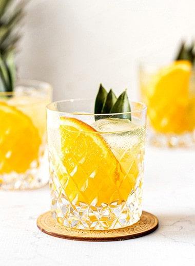Ginger Pineapple Refresher