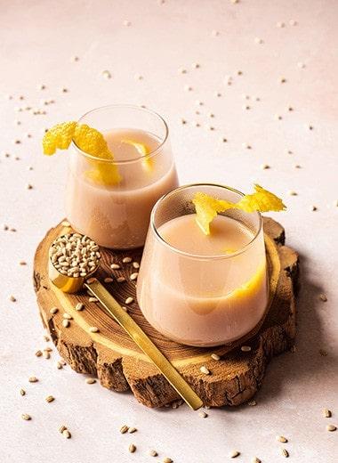Honey Lemon Barley Water Recipe