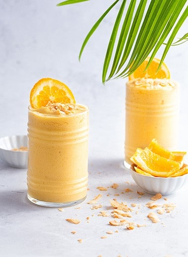 Toasted Coconut and Orange Smoothie