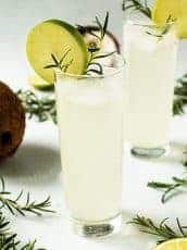 Coconut Lime Electrolyte Drink