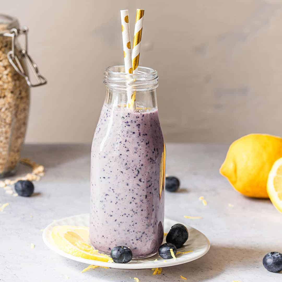 Blueberry Lemon  Smoothie Recipe