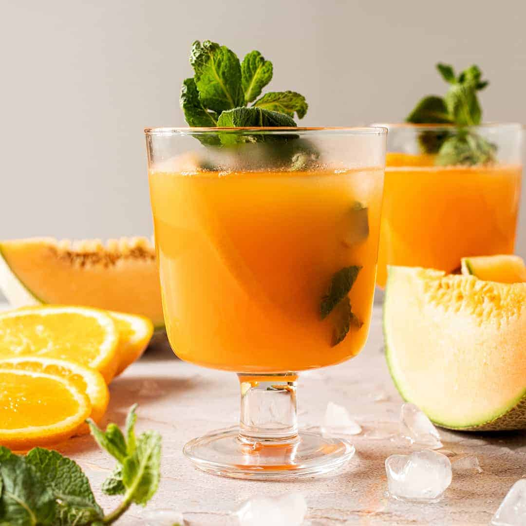 Homemade Orange Energy Juice