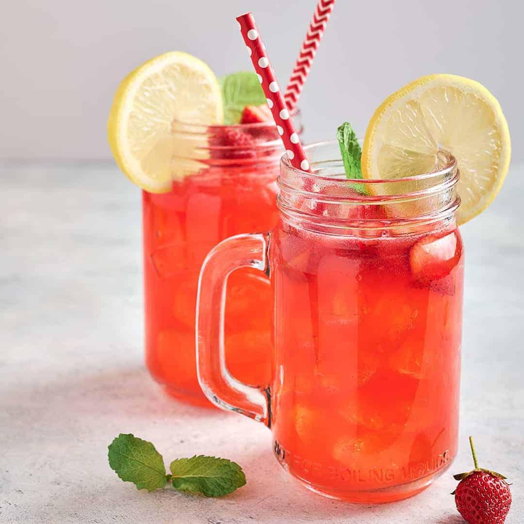 Strawberry Acai Lemonade Recipe